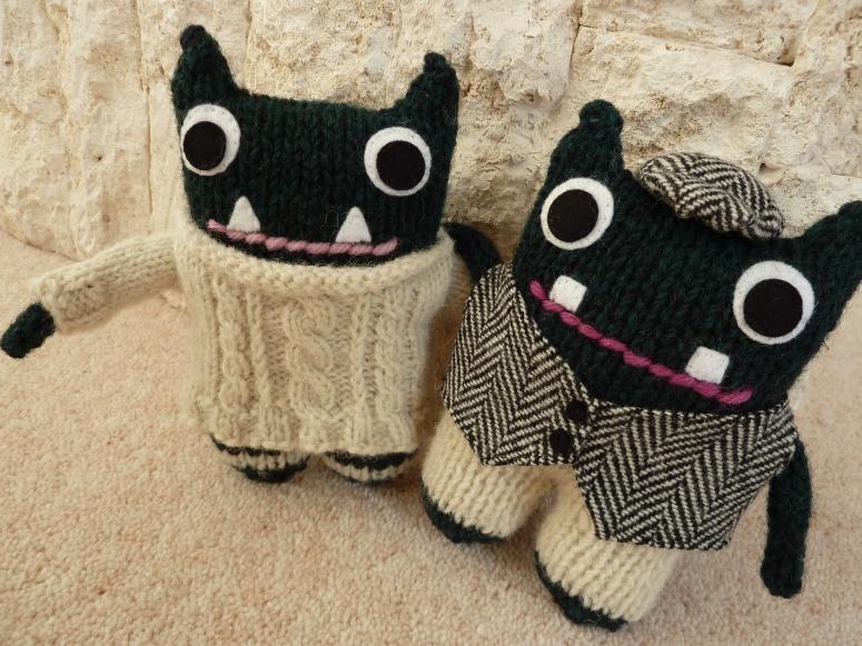 Paddy and Plunkett, Wandering Beasties - CrawCrafts Beasties