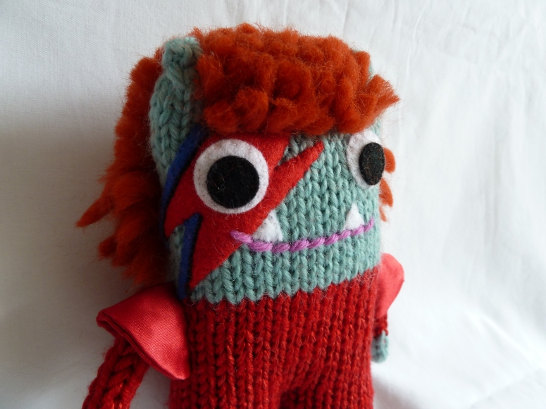 David Bowie Beastie, A Special Commission by CrawCrafts Beasties