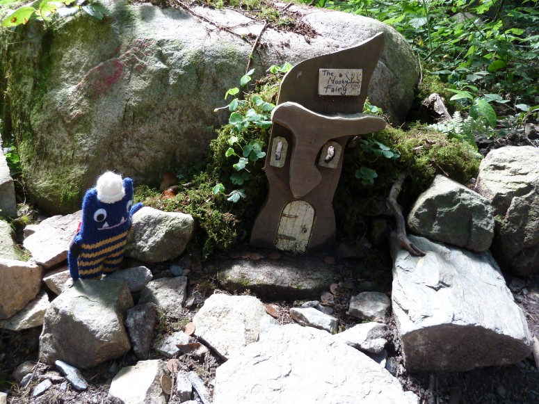 The First Fairy House - CrawCrafts Beasties