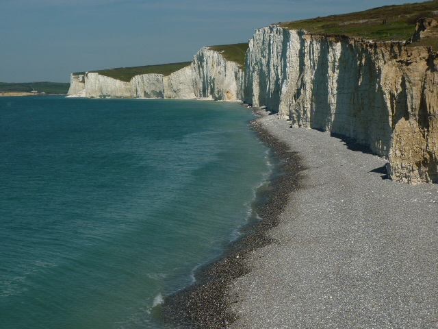 First Glimpse of the Seven Sisters, East Sussex - H Crawfor/CrawCrafts Beasties