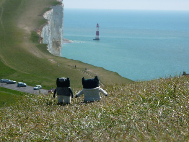 Paddy and Plunkett Reach Beachy Head - H Crawford/CrawCrafts Beasties