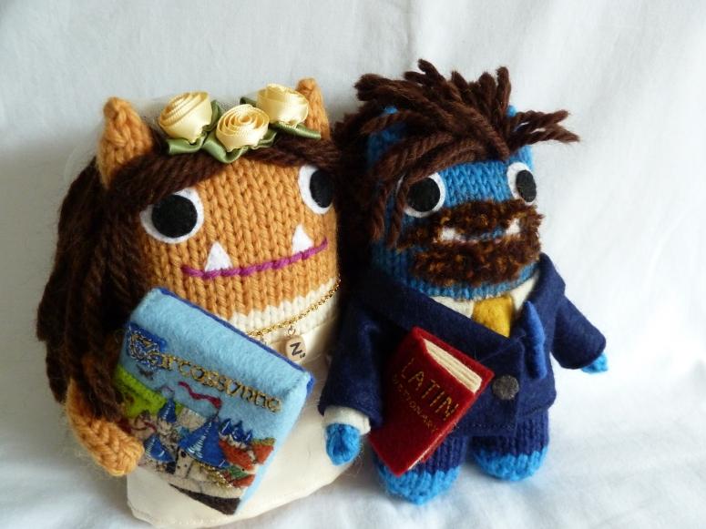 The Happy Couple - CrawCrafts Beasties