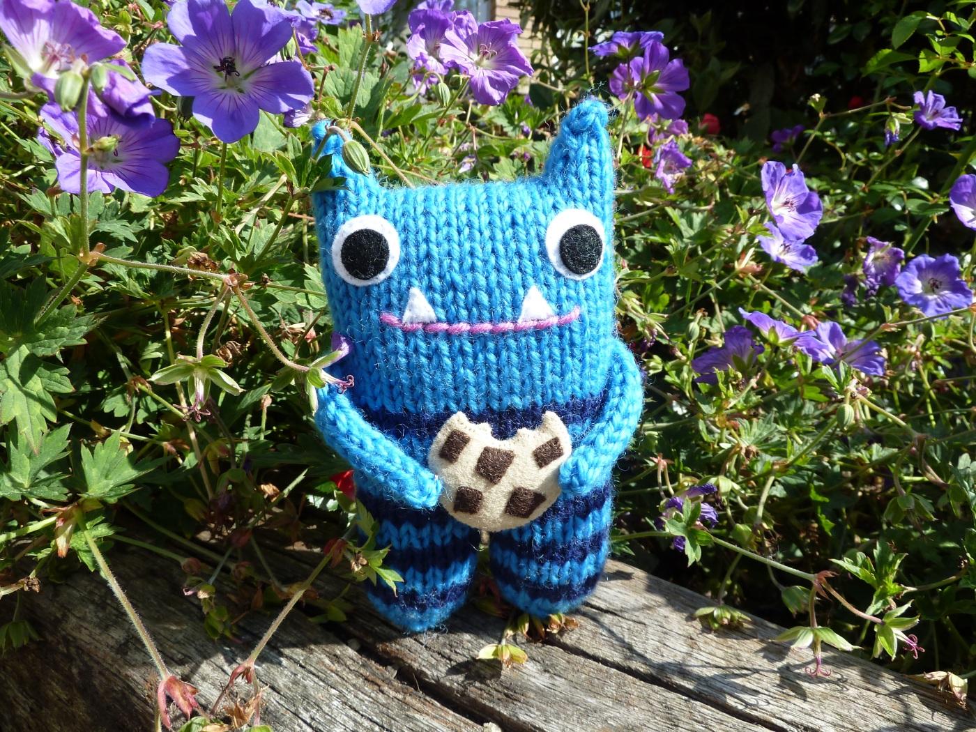 Meet Cookie Beastie - CrawCrafts Beasties