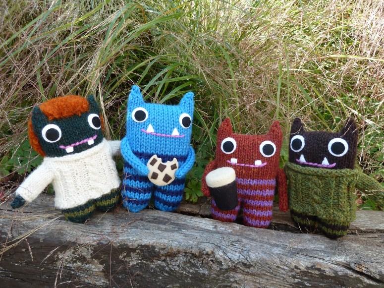 Beasties in the Garden - CrawCrafts Beasties