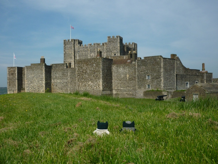 Paddy, Plunkett and Dover Castle - H Crawford/CrawCrafts Beasties