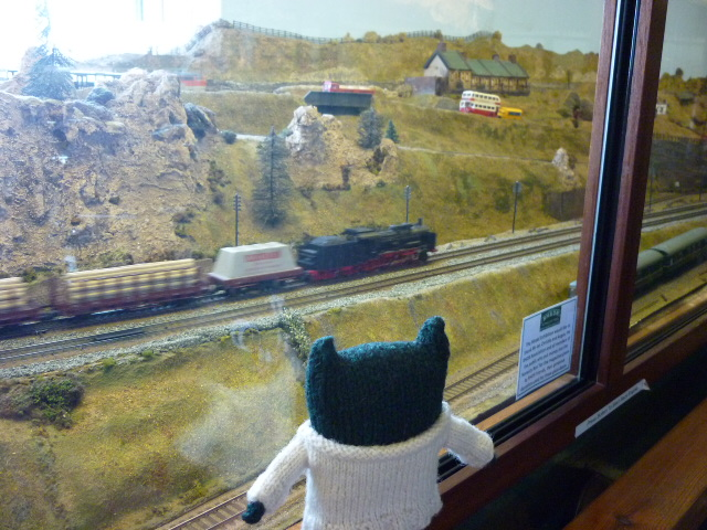 Paddy Watches the Trains Go By - H Crawford/CrawCrafts Beasties