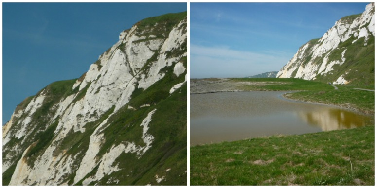 White Cliffs at Samphire Hoe - H Crawford/CrawCrafts Beasties