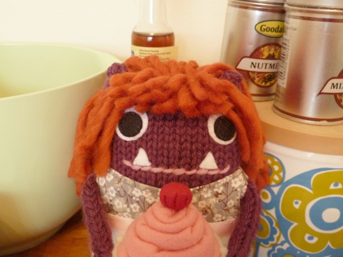 Baker Girl Beastie, by CrawCrafts Beasties