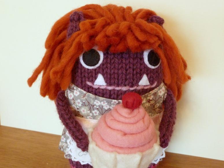 Baker Girl Beastie's Fabulous Hair - CrawCrafts Beasties
