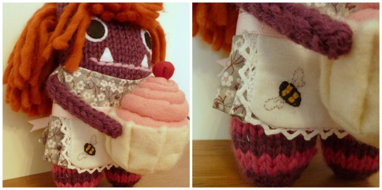 Baker Girl Beastie's Outfit, by CrawCrafts Beasties