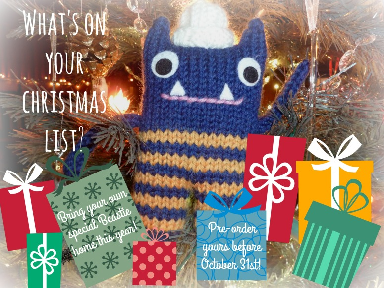 Christmas Orders! Place Your Christmas Orders! CrawCrafts Beasties