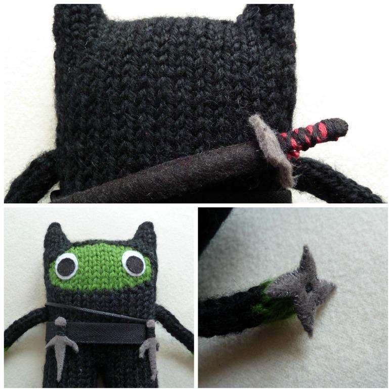 Ninja Weapons by Crawcrafts Beasties