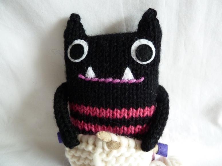 Knitter Beastie, by CrawCrafts Beasties