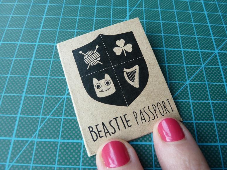New Beastie Passport Front Cover - CrawCrafts Beasties