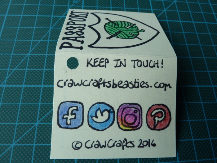 Save me from drawing teeny social network icons! CrawCrafts Beasties