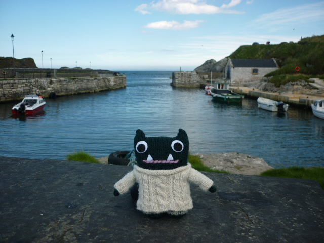 Paddy at Ballintoy Harbour - H Crawford/CrawCrafts Beasties
