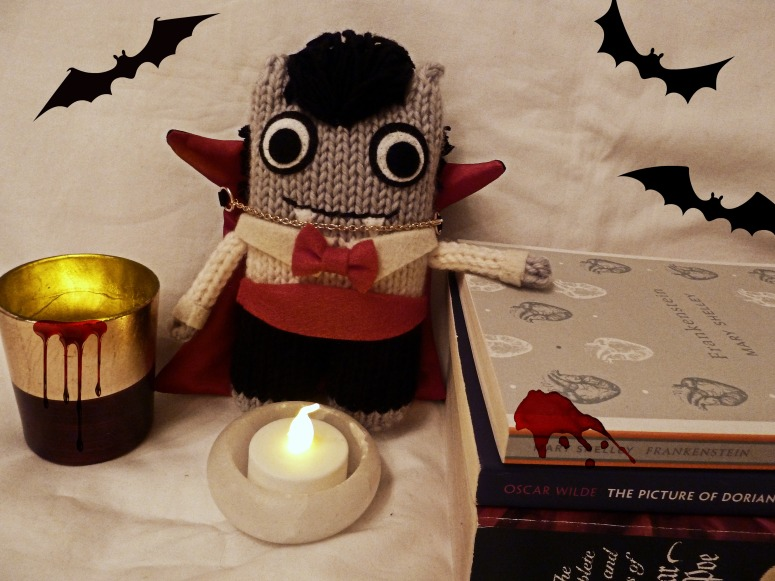 Dracula Beastie's Library - CrawCrafts Beasties