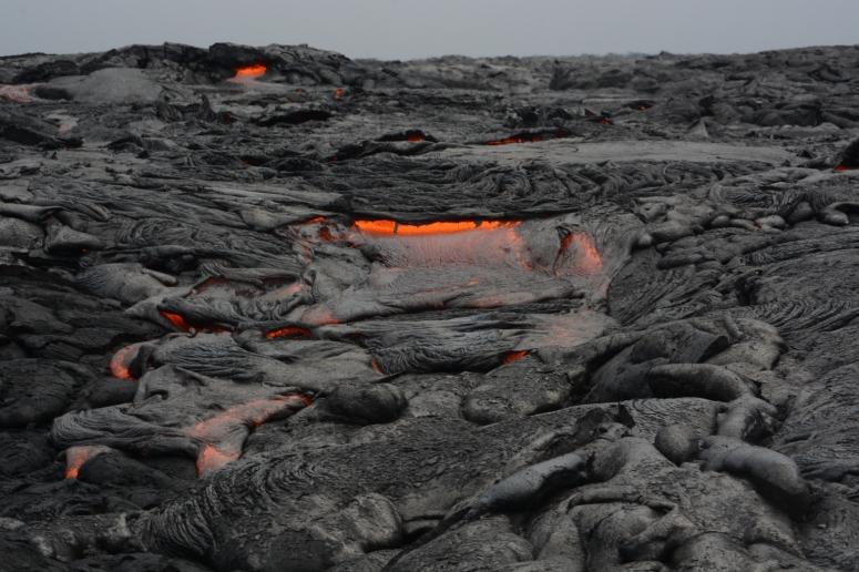 Lava at Kilauea, Hawaii - N Depping/CrawCrafts Beasties