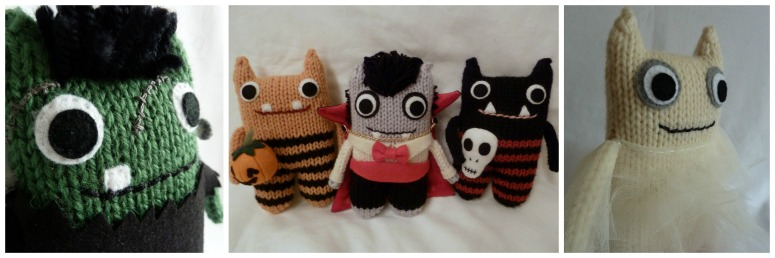 A Bevy of Hallowe'en Beasties, by CrawCrafts Beasties
