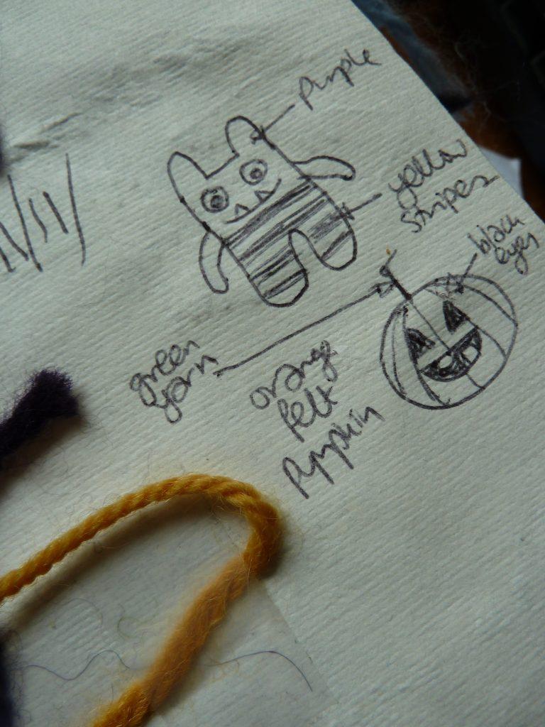 Jack O'Lantern Beastie, by CrawCrafts Beasties