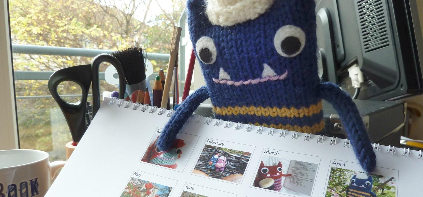 Calendar Time! CrawCrafts Beasties