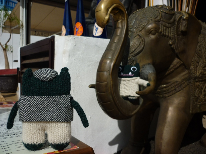 Paddy and Plunkett make another new friend - H Crawford/CrawCrafts Beasties