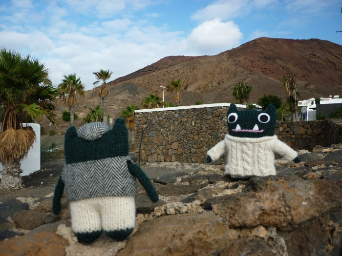 Paddy and Plunkett go for a Trek - H Crawford/CrawCrafts Beasties
