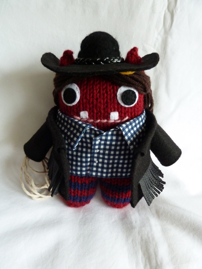 Cowgirl Beasties, Ready for Work! CrawCrafts Beasties