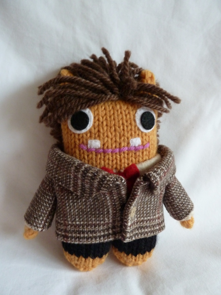It's Another Doctor Who Beastie! CrawCrafts Beasties