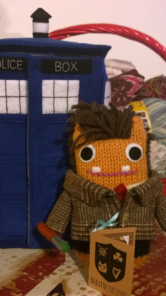 Doctor Who Beastie at Home! T Rabar/CrawCrafts Beasties