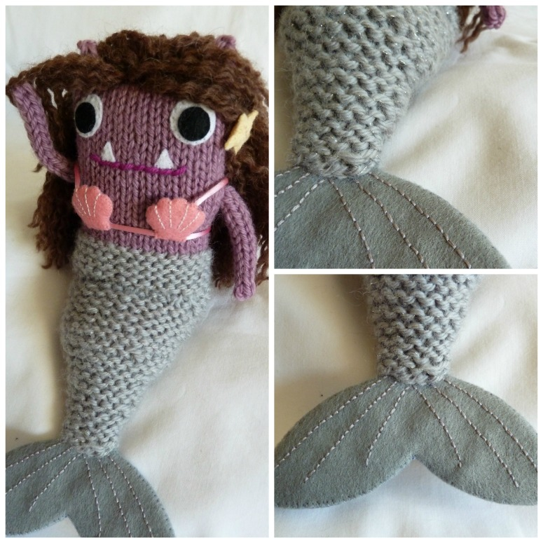 Mermaid Beastie's Tail, by CrawCrafts Beasties