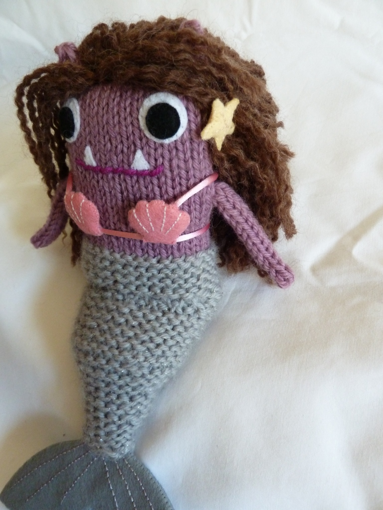 Mermaid Beastie Makes her Escape - CrawCrafts Beasties