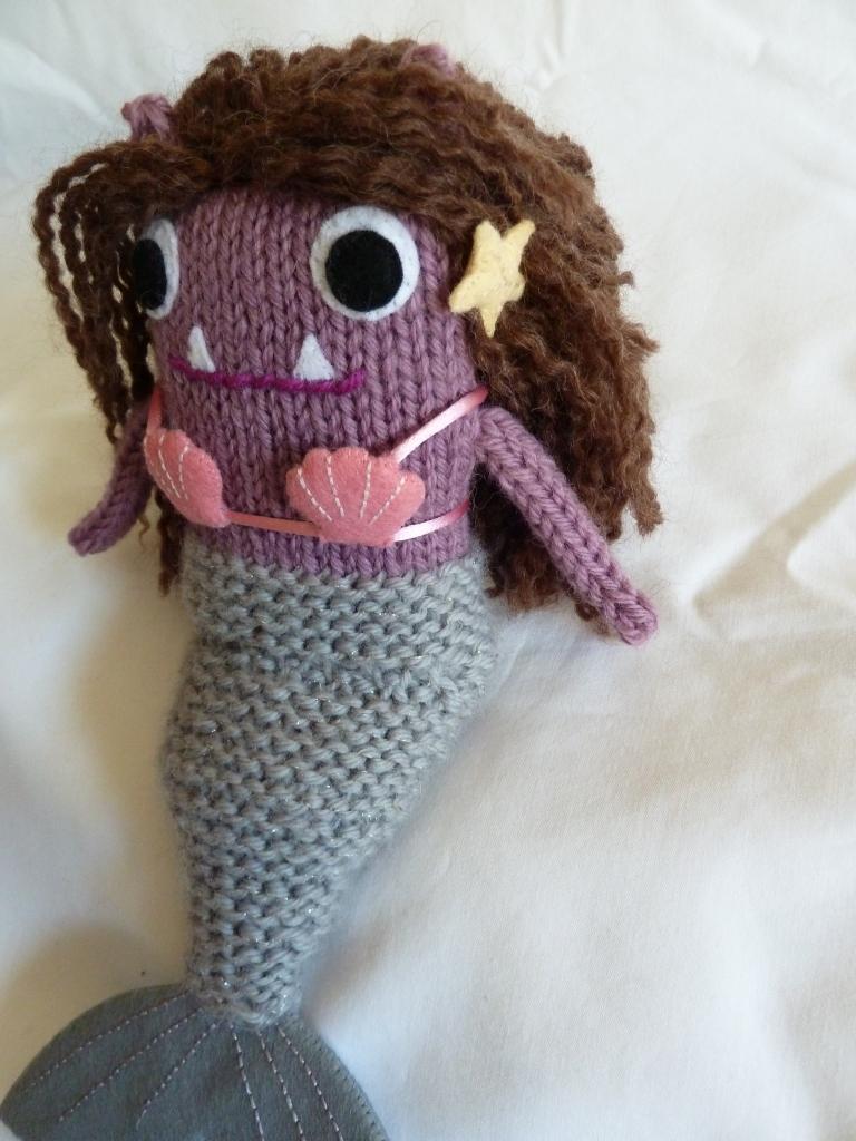 Mermaid Beastie Makes her Escape - CrawCrafts Beasties