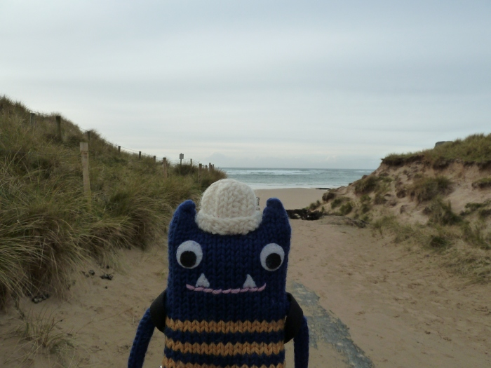 The Path to Five Finger Strand - CrawCrafts Beasties