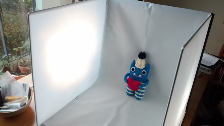 Beastie-Sized Photo Studio! CrawCrafts Beasties