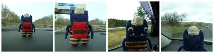 Road Trip Montage - CrawCrafts Beasties