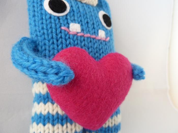 Heart Closeup - CrawCrafts Beasties