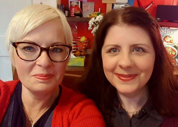 Lora and Deirdre - Image borrowed from www.olannand.ie