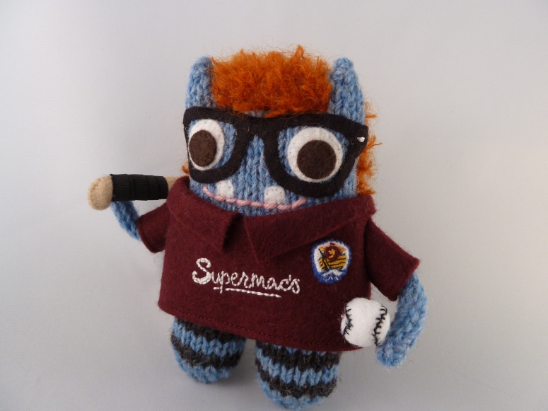 Galway Hurling Beastie, by CrawCrafts Beasties