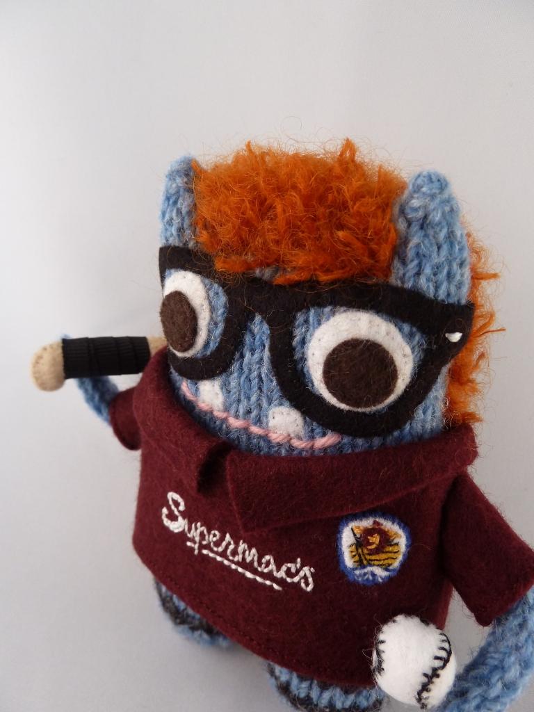 A Redhead Beastie! CrawCrafts Beasties