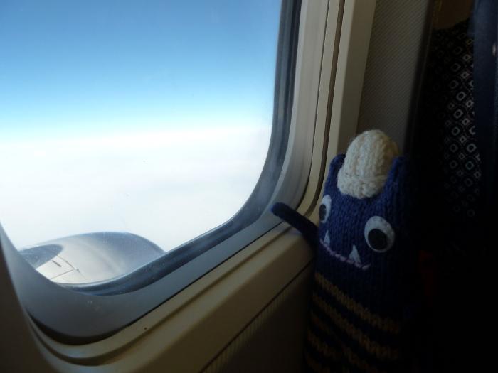 Beastie on a Plane! CrawCrafts Beasties