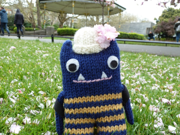 Cherry Blossom, this season's must-have fashion accessory - CrawCrafts Beasties