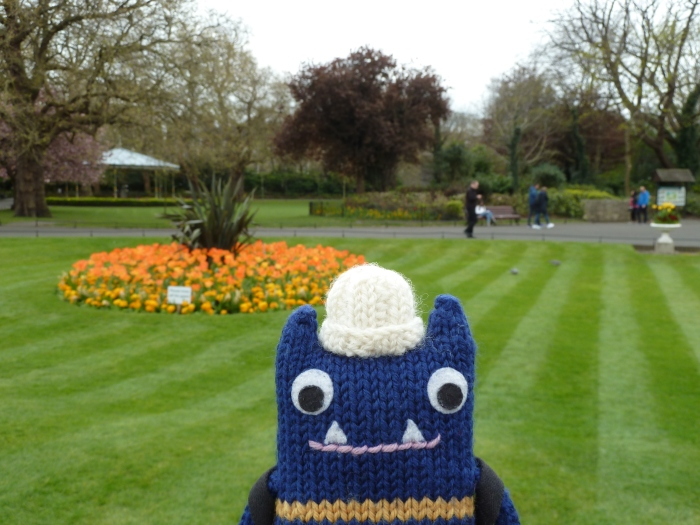 The Colours of Spring in St Stephen's Green - CrawCrafts Beasties