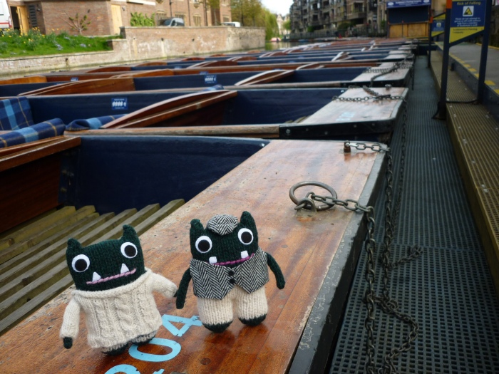 Paddy and Plunkett Set Sail - H Crawford/CrawCrafts Beasties