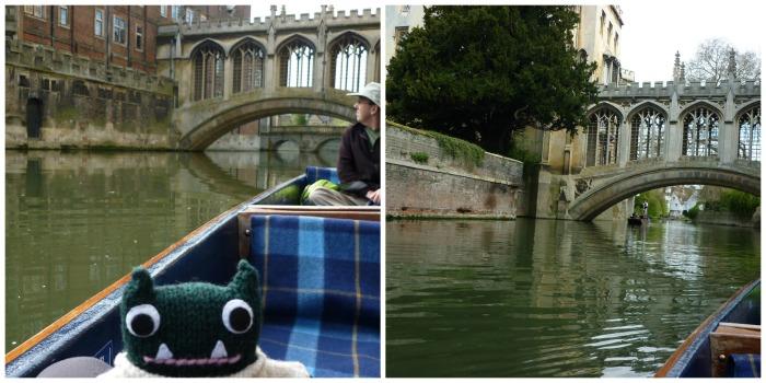 The Bridge of Sighs, Cambridge - H Crawford/CrawCrafts Beasties