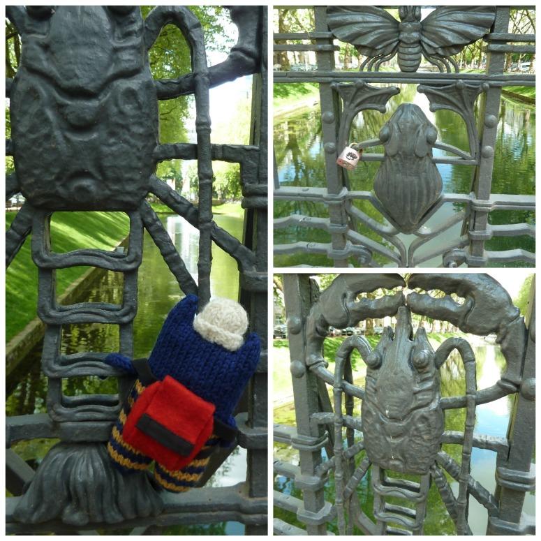 Creatures on the Bridge at Konigsallee - CrawCrafts Beasties