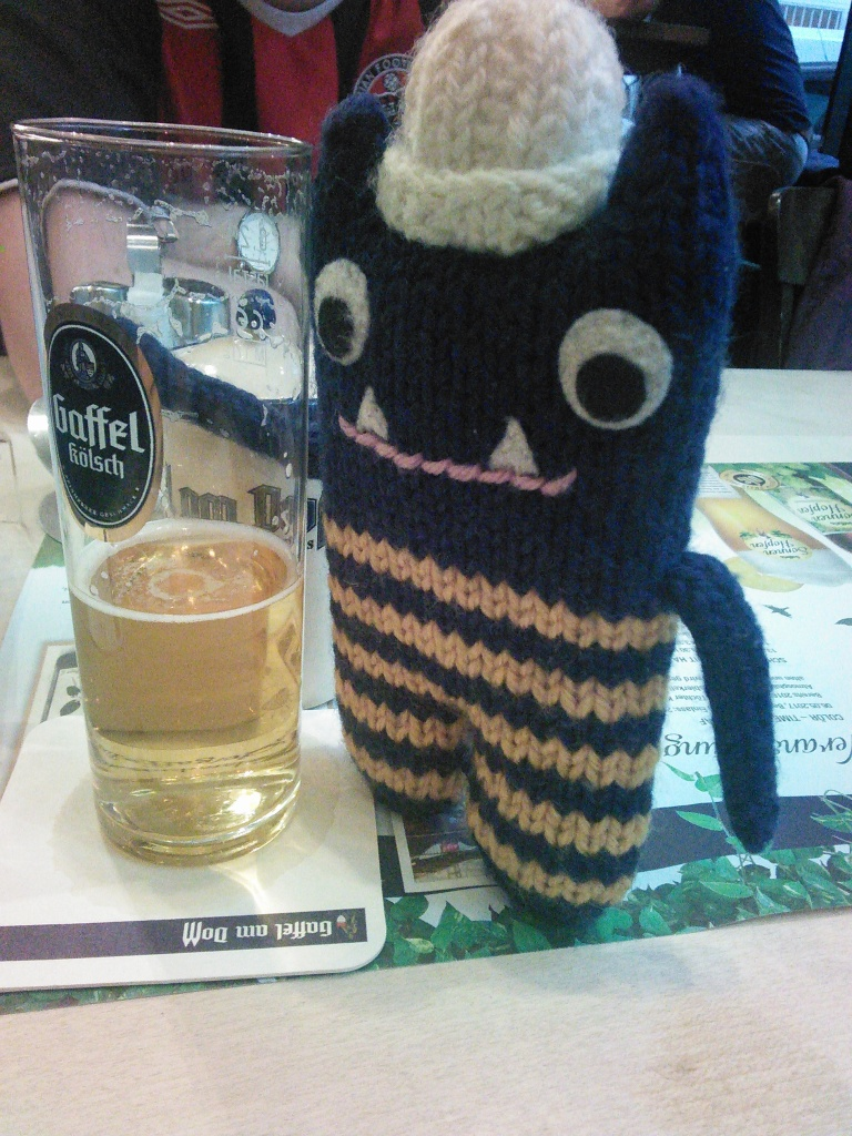 A Toast with Kolsch - CrawCrafts Beasties