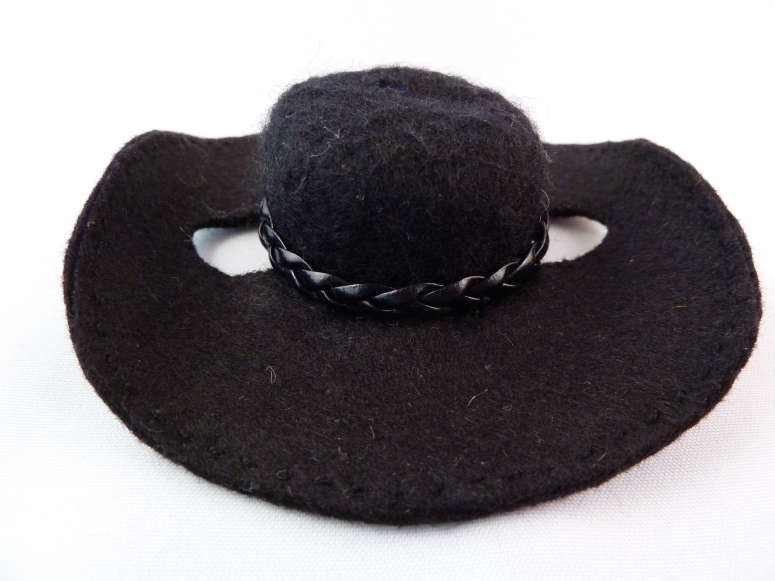 Cowboy Beastie's Cowboy Hat, by CrawCrafts Beasties