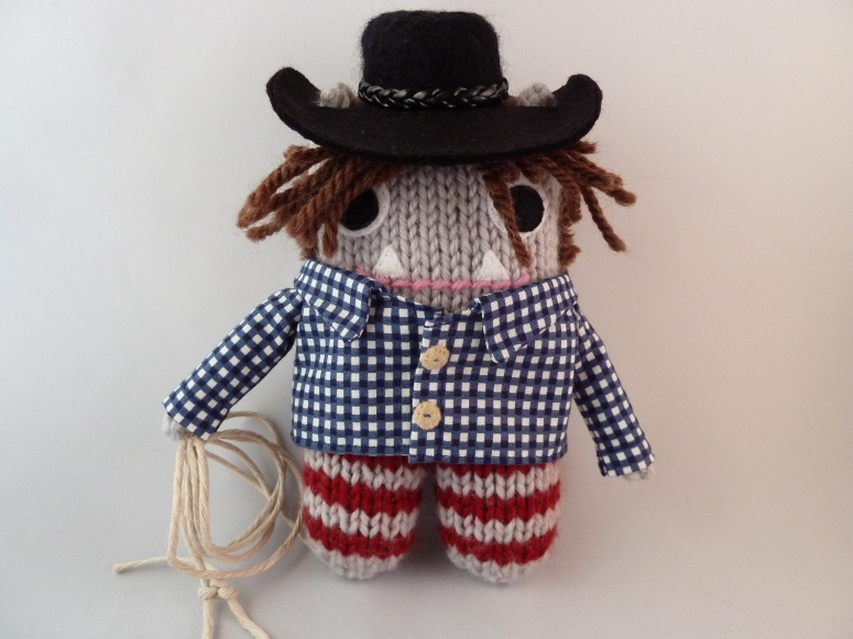 One Finished Cowboy Beastie! CrawCrafts Beasties