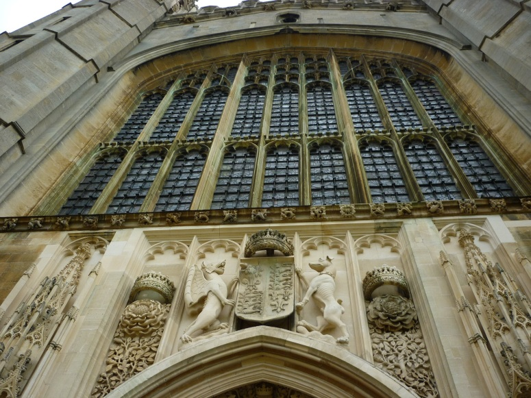 Chapel Entrance, King's College Cambridge - H Crawford/CrawCrafts Beasties
